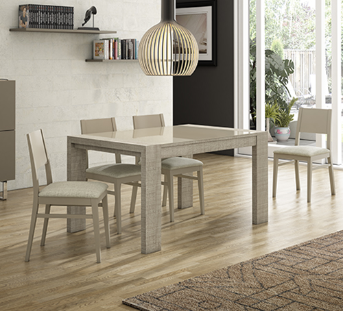 Auxiliares pinald for Sillas comedor color beige